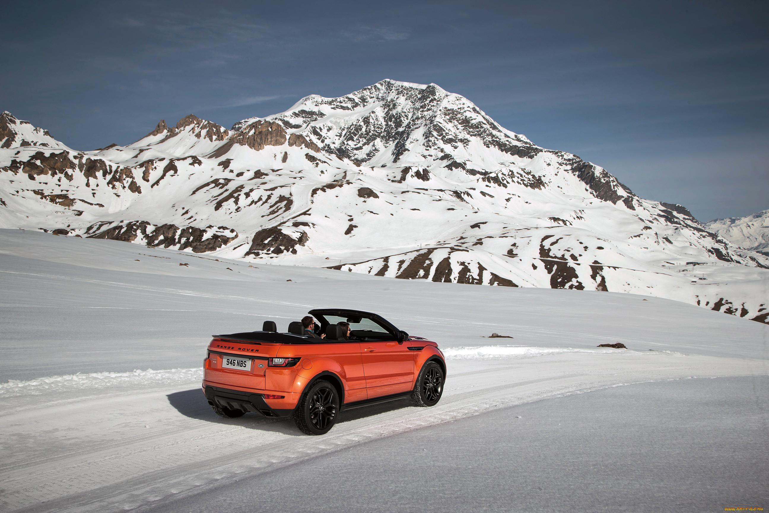 автомобили, range rover, range, rover, evoque, convertible, 2016г